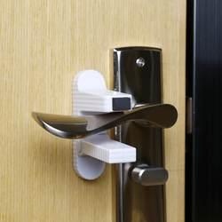 2 шт. Детская безопасность замок дверная ручка замок Безопасный ребенок Детская безопасность анти-открытый доказательство двери клейкая