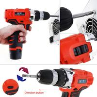 VOTO 12V Electric Screwdriver with Rotation Adjustment Switch and Two-speed Adjustment Button for Handling Screws / Punching