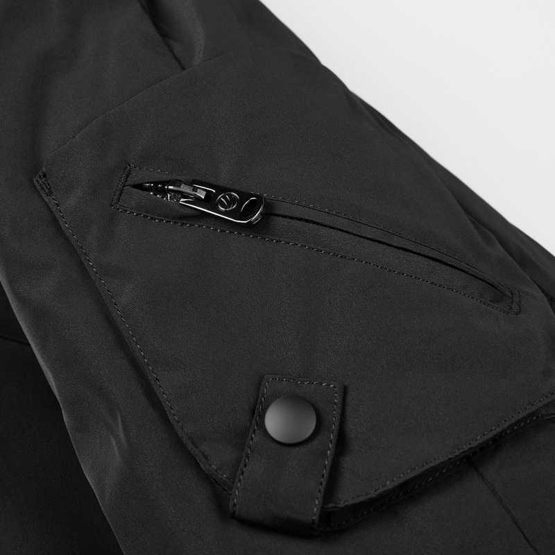 BOSIDENG новый зимний пуховик для мужчин пуховик Длинная парка зимняя утепленная верхняя одежда с капюшоном водонепроницаемая B80141501DS