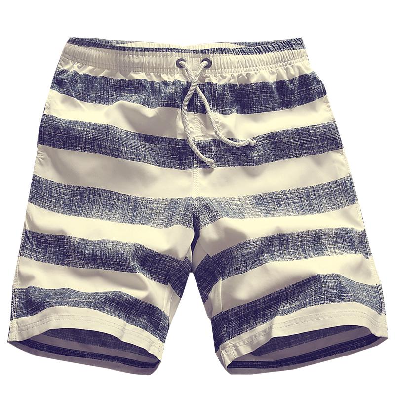 New Fashion Mens Linen Shorts 2019 Summer Style Brand Men Plaid Cotton Shorts Casual Beach Shorts Men Balck And Blue