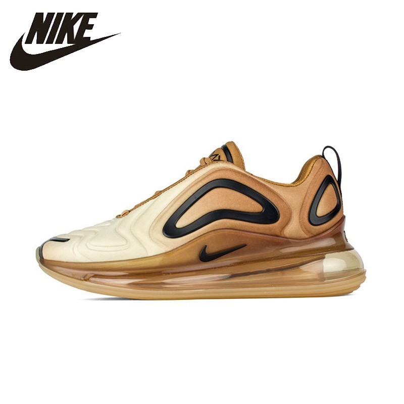 Oficial de Nike Air Max 720 Mulher Running Shoes Respirável Anti-slip Esportes Sneakers New Arrival AO2924