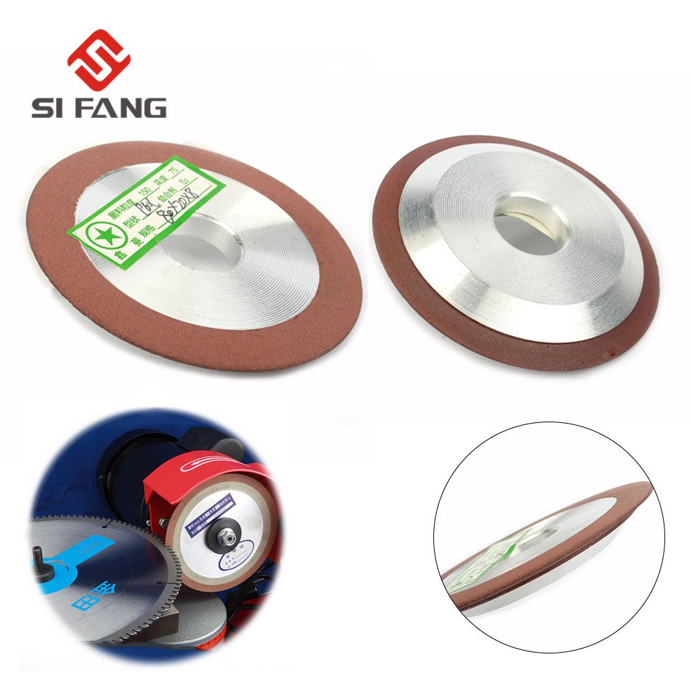 80mm Diamond Disc Grinding Wheel Cutter Blade For Carbide Sharpener Cutter Tool Metal Alloy Milling Grinder Accessories Grit150