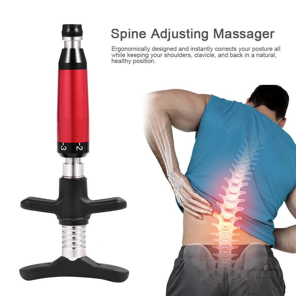 Best Chiropractic Adjusting Instrument 6 Levels Manual Chiropractic Instrument Spine Activative Back