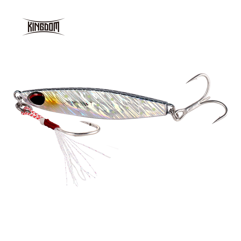 Kingdom 2019 New DRAGER Metal Cast Jig Spoon 8.3G 14.7G 24.3G Shore Casting Jigging Lead Fish Sea Bass Fishing Lure Hard Baits