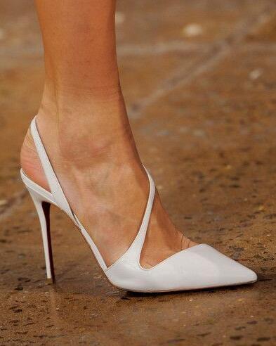 Mariage Mince Profonde Chaussures Sueur De Bout Pointu La Spéciale sur 2019 Blanc As 45 Femme Slip Peu Taille Pompes 34 Talon Picture Offre Parti YxaI8wqw