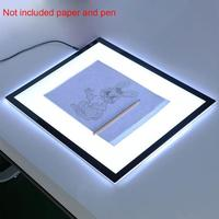 A3 Led Table Tracing Light Box Pad Artists Copy Drawing Board Art Stencil