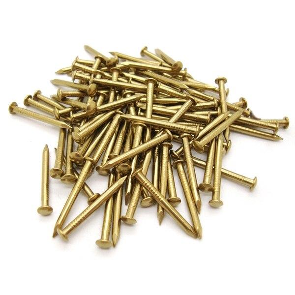 Analytisch 200 Pcs Miniatuur Nagels Ronde Kop Nagels Voor Kleine Scharnieren Poppenhuizen Delicate Dozen Mini Ambachtelijke Projecten Koop One Give One