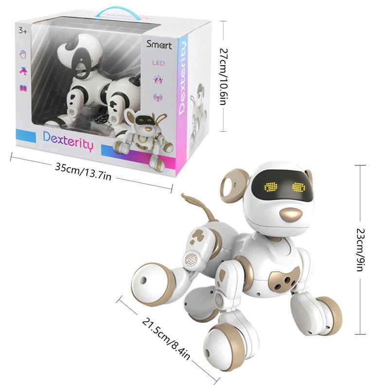 Télécommande Robot Électronique Animaux Chien Jouet Interactif Chiot Robot Intelligent Jouets pour Enfants - 6