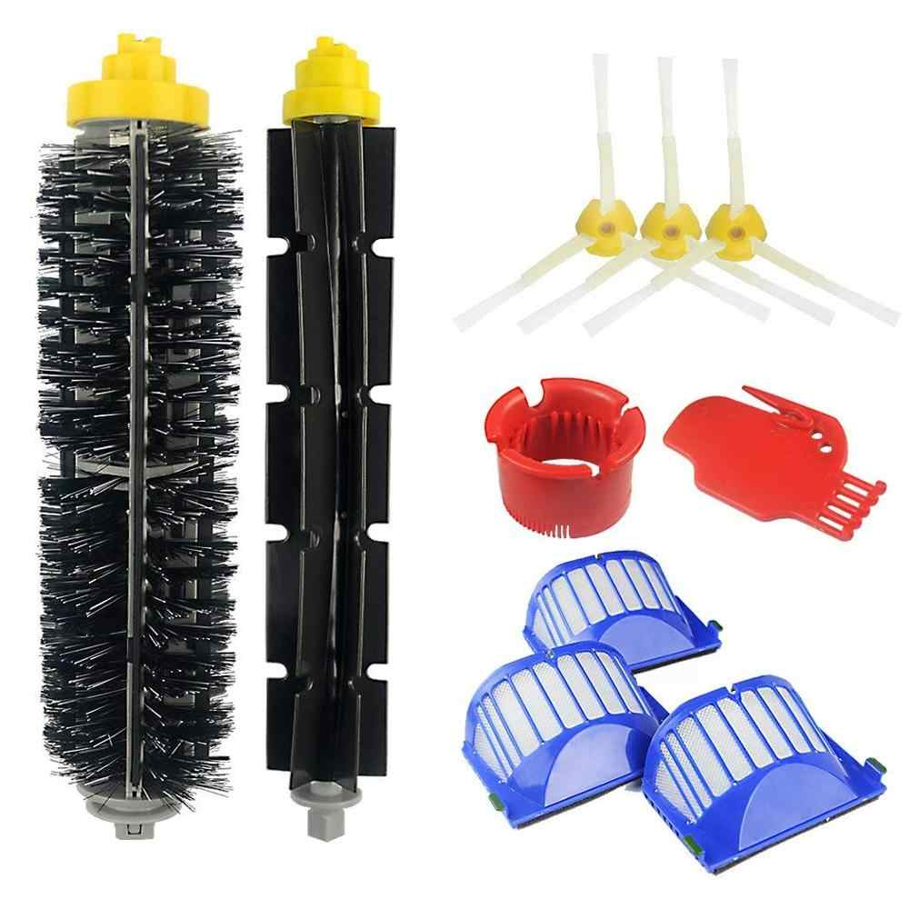 Vacuum Cleaner Brush Parts Kit Fit For iRobot Roomba 600 620 630 650 660 675 690