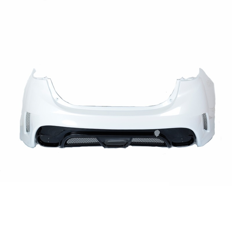 Exterior Decorative Styling Accessory Automobile Tuning Rear Diffuser Car Front Lip Bumpers 14 15 16 17 FOR Mazda Axela