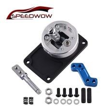 цены SPEEDWOW Aluminum Short Shift Throw Manual Transmission Shifter Short For Ford 83-03 Mustang T5 T45 T-5 T-45