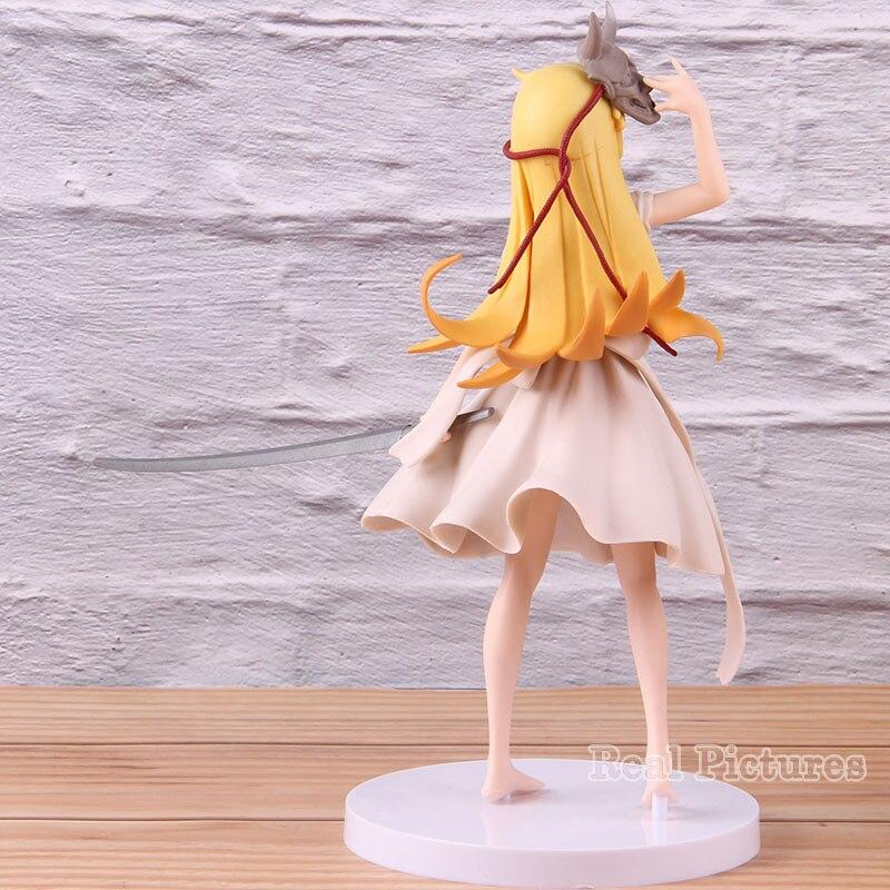 EXQ Oshino Shinobu PVC Anime Action Figure Collectible Model Toy