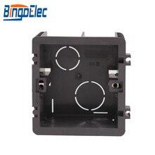 Огнестойкая пластиковая Монтажная коробка для переключателей, настенная коробка, Настенная коробка переключателей, стандарт Великобритании