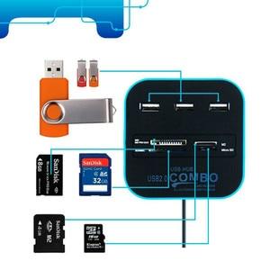 Image 5 - Direct batch COMBO multi function USB 2.0 card reader hub with HUB distributor SD
