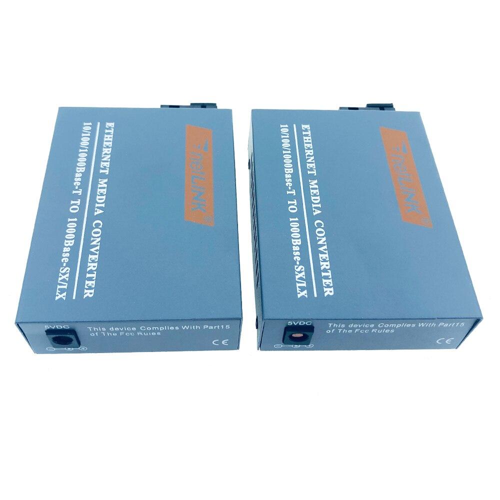 Image 5 - HTB GS 03 A&B 3pairs Gigabit Fiber Optical Media Converter 1000Mbps  Single Mode Single Fiber SC Port External Power Supply-in Fiber Optic Equipments from Cellphones & Telecommunications