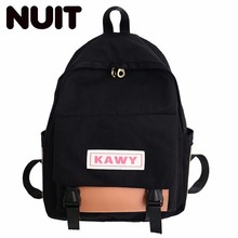 Woman Nylon Backpack Bags Fashion Girls Bag Campus College Student Schoolbags School Wind Both Shoulders