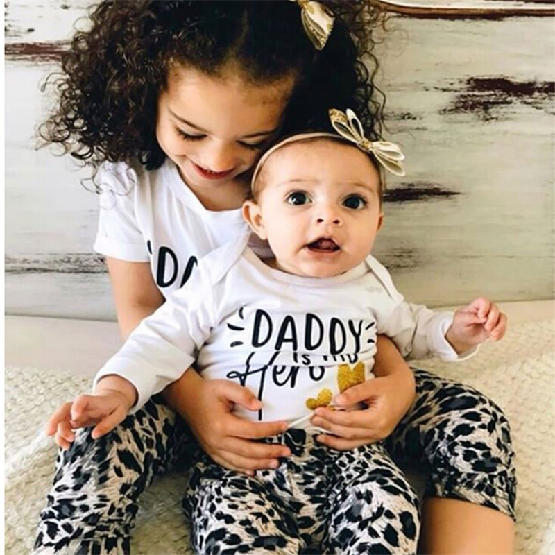 2019 Baby Kids Boys Romper T-shirt+Pants Outfits Brother Matching Clothes Set