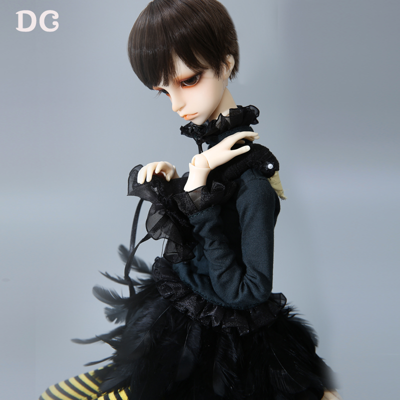OUENEIFS Douglas DC BJD SD Doll 1 4 Body Model Black Swan Style K body 06