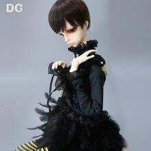 OUENEIFS Douglas DC BJD SD Doll 1/4 Body Model Black Swan Style K-body-06