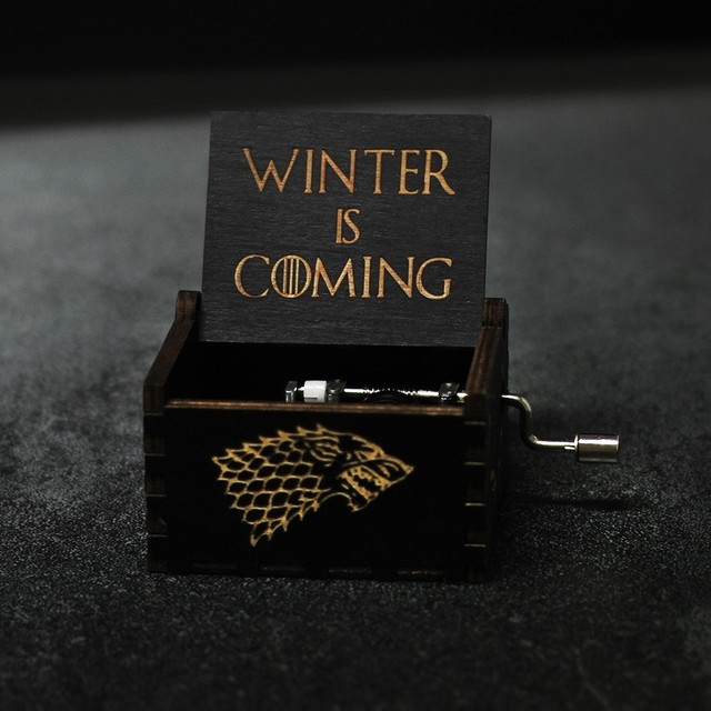 Hot Wood Hand Crank Music Box Game Of Thrones for Children's Birthday Gifts 1
