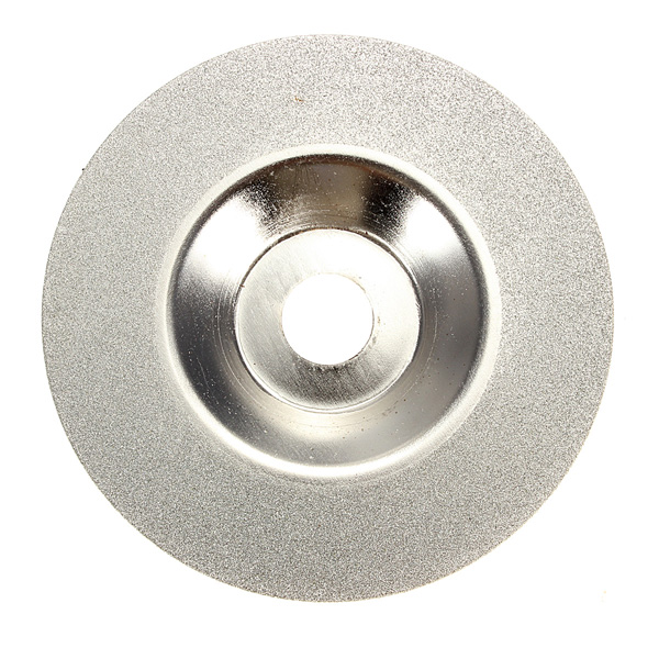 100mm 4 Inch Diamond Coated Grinding Wheel Grinder Silver Tone Wholesale Price