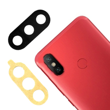 Rear Back Camera Lens Glass Sticker Adhesive Cover For Xiaomi MI 6X A2 Replacement