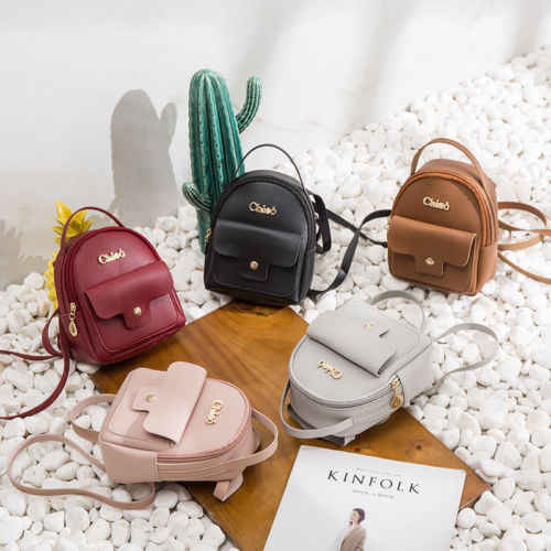 e374aa77a6 Fashion Women Girl Mini Faux Leather Backpack Rucksack School Bag Travel Ladies  Bags Girls Hot Backpacks