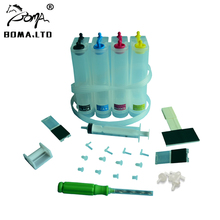 BOMA.LTD 802 301 122 Accessaries Continuous Ink Supply System Universal CISS Tank For HP For Canon For Lexmark Printer Kit Drill universal 500ml color diy continuous ink supply system ciss tank for hp epson canon brother printer ciss system tank plotter