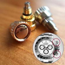 Stalowy przycisk popychacza do RLX Rolex Daytona 1165 automatyczny chronograf części narzędzi tanie tanio Narzędzia do naprawy i zestawy watch2parts steel 0inch 0 05kg Rolex Daytona 1165 pusher Zegarki dla części