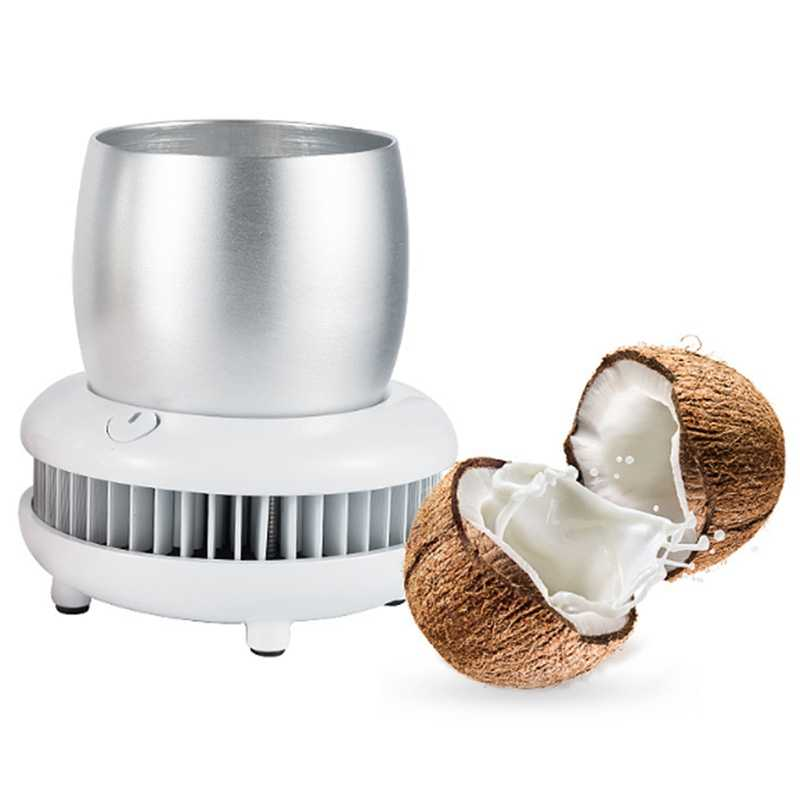 12V 220V Dual Portable Mini Refrigerator Electric Summer Drink Cooler Kettle Drink Instant Cooling Cup Car Home Cooler Freezer