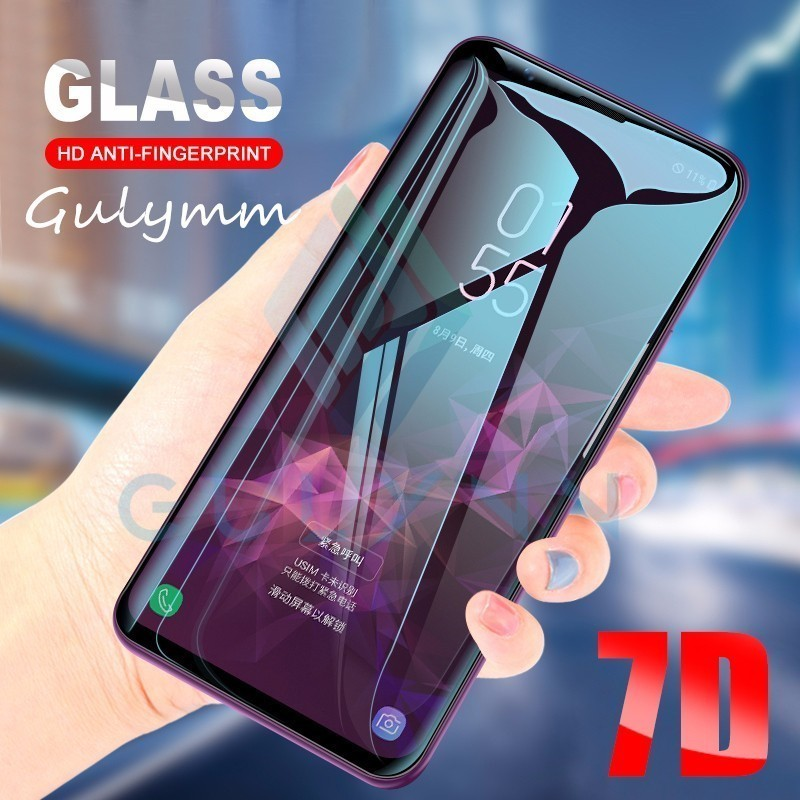 7D полное изогнутое закаленное стекло для Samsung Galaxy S10 S9 S8 Plus S10E для защитной пленки для экрана Samsung Note 9 8 S10 S7 S6 Edge
