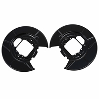 For BMW X5 E53 REAR DISC BRAKE BACK PLATES RIGHT HAND LEFT HAND PAIR A1080