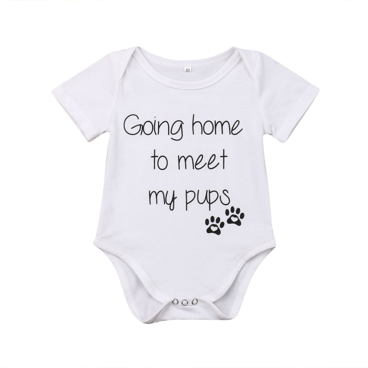 Cute Baby Boy Girl   Romper   Summer Clothing Infant Newborn Baby Funny Letter Short Sleeve Jumpsuit Playsuit Baby Costumes