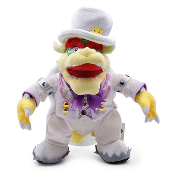 7 inches 18cm super mario bros koopa bowser plush toys with tag high quality gift for children Anime Super Mario Odyssey Bros Wedding Dress Bowser Koopa Peluche Doll Plush Soft Stuffed Toy Great Christmas Gift For Children