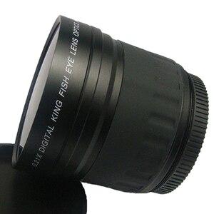 Image 5 - 52 millimetri 0.21X Fisheye Grandangolare Obiettivo Macro Per Nikon Canon Digital DSLR Della Macchina Fotografica