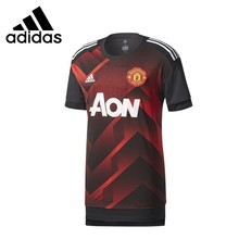b5a4568f7 Adidas Manchester United Man Football T-shit Breathable Soccer Training  Short Sleeve Sweater BS2608 BS2586