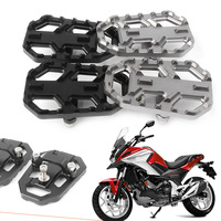 CNC Aluminum Motorbike Foot Pegs Footpegs Footrests For Honda NC700X NC700S 2012 2014 & NC750X NC750S 2014 2015 2016 2017 2018