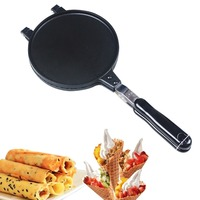 Egg Roll Maker Crispy Omelet Mold Crepe Baking Pan Waffle Pancake Bakeware Ice Cream Cone Machine Pie Frying Grill