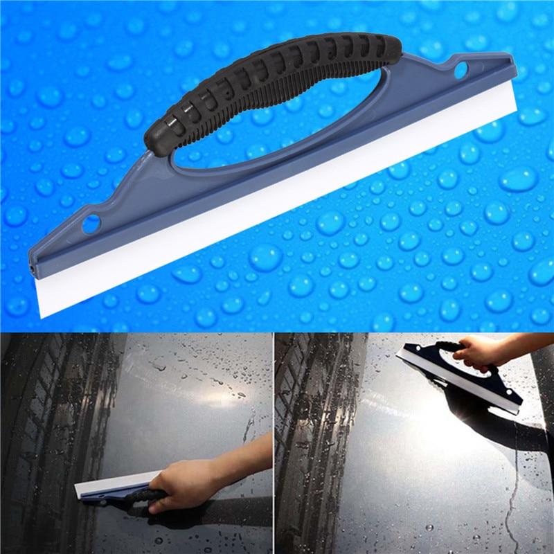 Haus & Garten Silikon Home Auto Wasser Wischer Rakel Klinge Waschen Fenster Glas Sauber Dusche Werkzeug Gute WäRmeerhaltung Haushaltsreinigung