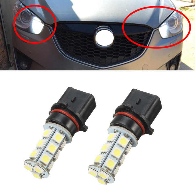 1X Auto P13W SH23W PSX26W 5050 18 LED Car Fog Light Head Parking External Light Driving Daytime Running Light Source DRL Lamp