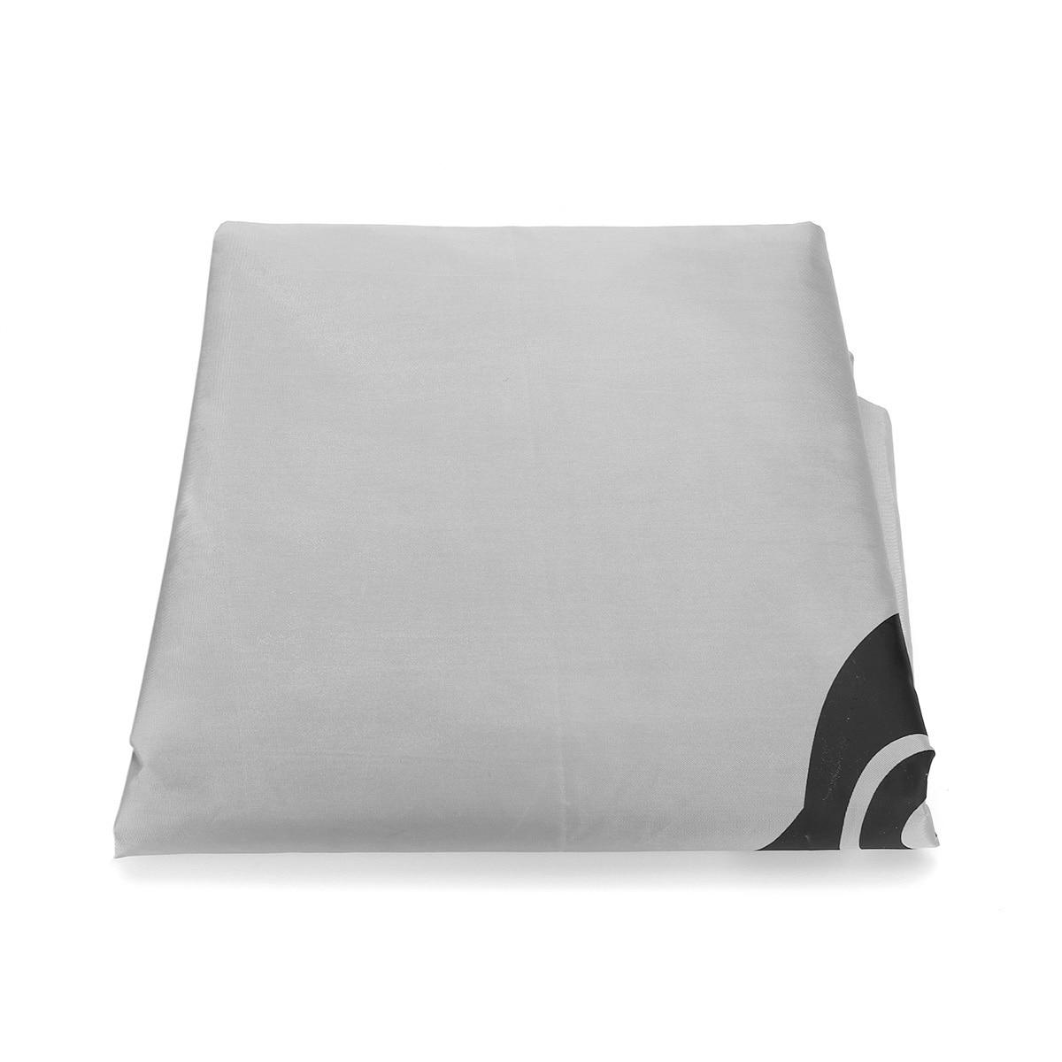Voiture parapluie soleil ombre couverture extérieure voiture véhicule tente Oxford tissu Polyester couvre 400x210 cm bleu/argent sans support - 6