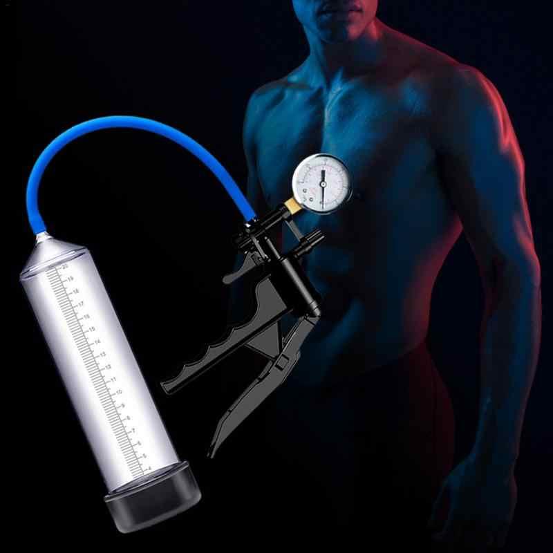ProXtra luvpompe pompe à pénis mâle agrandisseur développeur aide à l'érection vide avec la poignée de pistolet poignée pénis agrandissement pompe à puissance