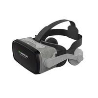SHINECON Casque 9.0 VR Virtual Reality Goggles 3D Glasses Google Cardboard VR Headset Box For 4.0 6.3 Inch Smartphone