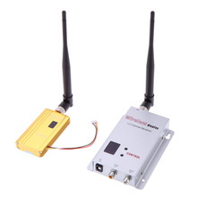1500mW 1.2G  Wireless 8CH Transmitter 12CH Receiver Digital Camera Audio Video Transmission System for Display Monitor FPV OSD