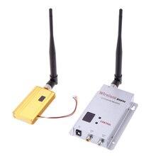 1500mW 1.2G bezprzewodowy 8CH nadajnik 12CH odbiornik aparat cyfrowy Audio wideo systemu przesyłowego dla Monitor FPV OSD