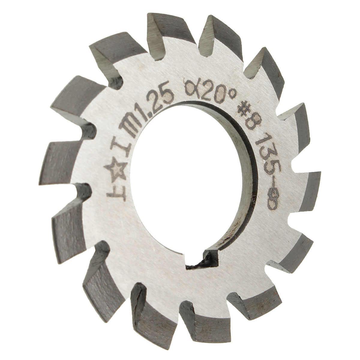 HSS Gear Hob Cutter Module1.25 Bore 22mm Pressure Angle 20 Degree M1.25 Gear Hob