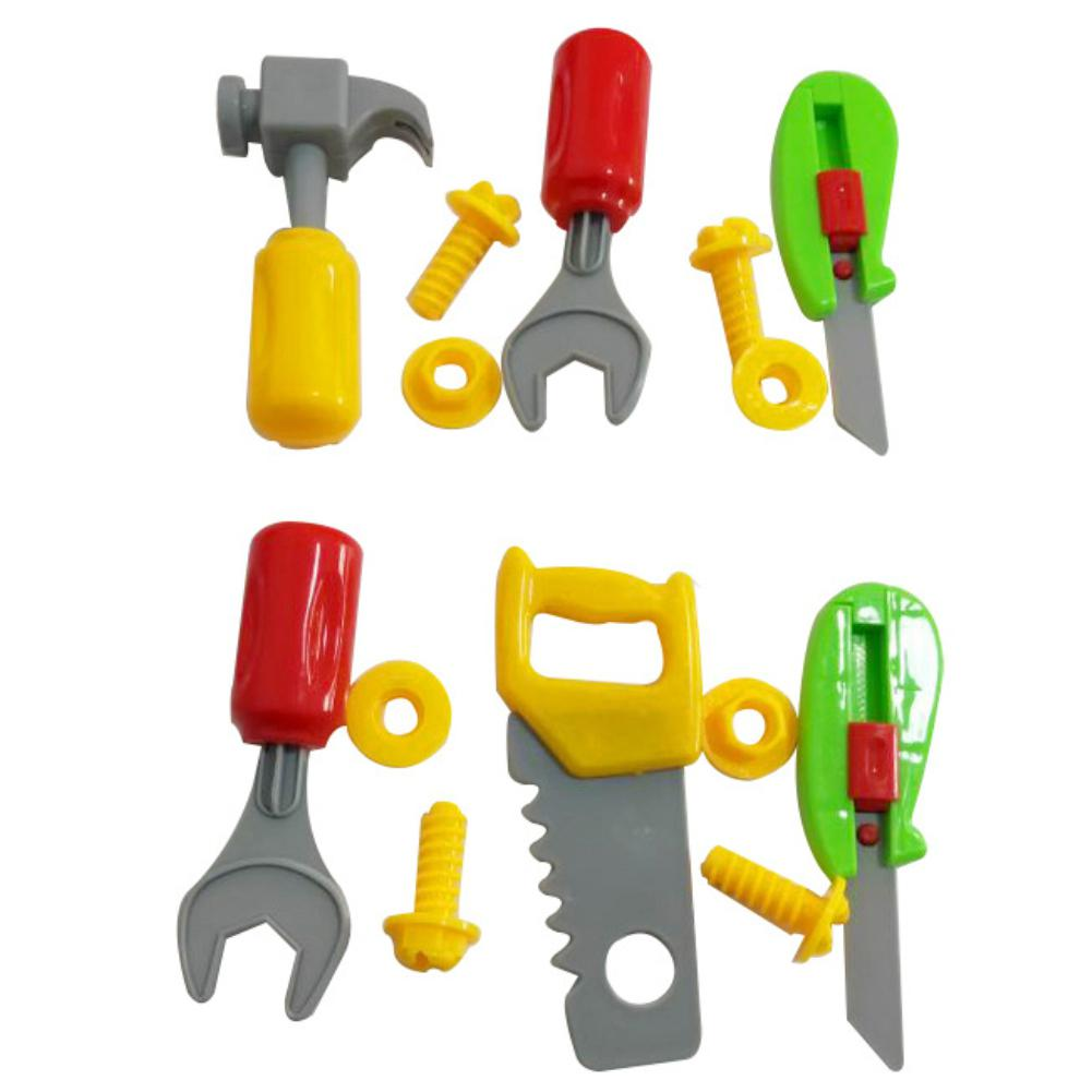 Gift Toy Preschool Play 14pcs Plastic Screwdriver Wrench Repair High quality