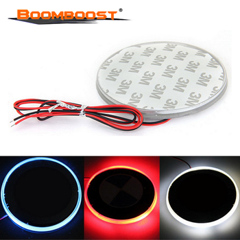 Waterproof 3 Colors 82mm Fit for BMW 3 5 7 Series X3 X5 X6 Z4 Car Styling Background Badge Emblem Logo LED Light Lamp Sticker image