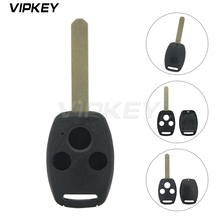 цена на Remotekey replacement Remote key shell for Honda CRV Civic Accord  (No chip room) 3 button