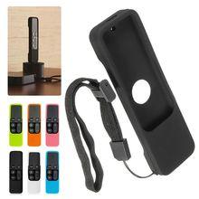 For Apple TV 4K 4th Gen Remote Control Covers 4Gen Remote case Silicone Soft Protective Skin Case Cover